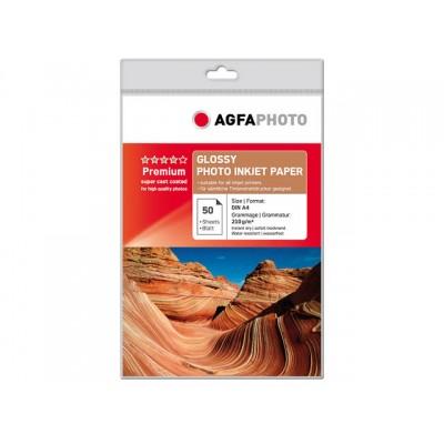 AGFAPHOTO FOTOPAPIER A4 210GR 50 VEL (AP21050A4)