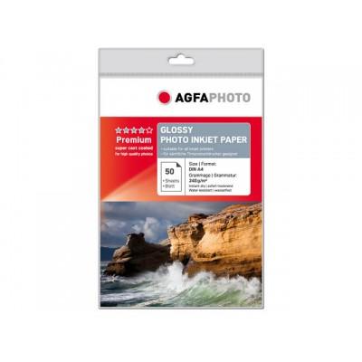 AGFAPHOTO FOTOPAPIER A4 240GR 50 VEL (AP24050A4)