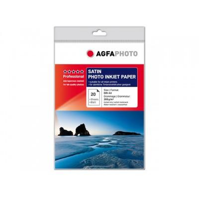 AGFAPHOTO FOTOPAPIER A4 260GR 20 VEL (AP26020A4S)