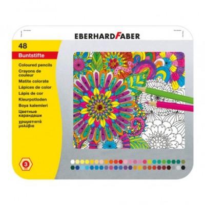 EBERHARD FABER KLEURPOTLODEN 48 ST
