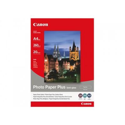 CANON FOTOPAPIER A4 260GR 20 VEL (SG-201)
