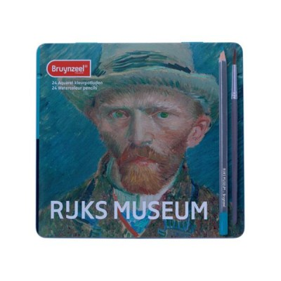 BRUYNZEEL RIJKSMUSEUM AQUARELPOTLODEN 24 ST