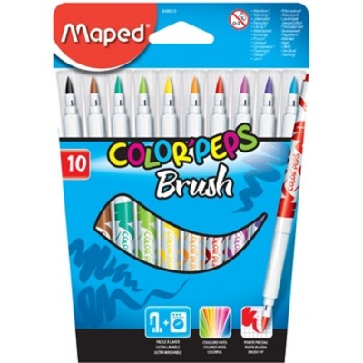 MAPED COLORPEPS BRUSH 10ST